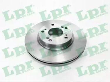 Вентилируемый тормозной диск на HONDA FR-V 'LPR H1005V'.