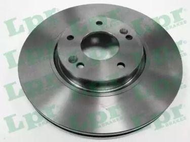 Вентилируемый тормозной диск на KIA OPTIMA 'LPR H2029V'.