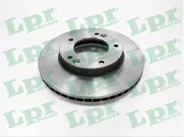 Вентилируемый тормозной диск на Киа Соренто 'LPR K2003V'.