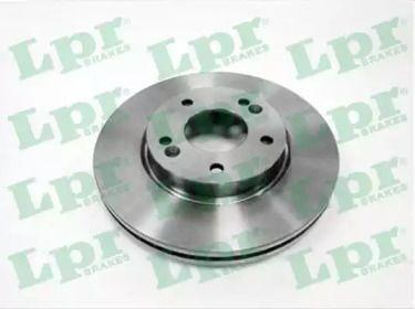 Вентилируемый тормозной диск на Хендай Ай икс 20 'LPR K2016V'.