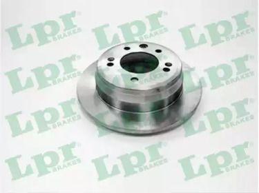 Тормозной диск на Киа Сид 'LPR K2017P'.