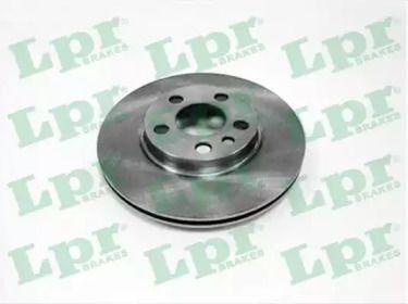 Вентилируемый тормозной диск на PEUGEOT EXPERT 'LPR L2055V'.