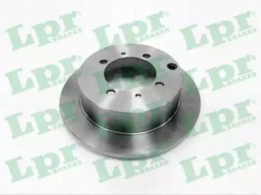 Тормозной диск на Митсубиси Спейс Вагон 'LPR M1617P'.