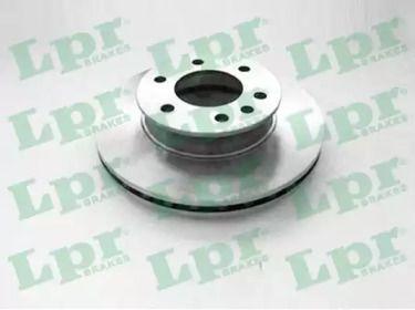 Вентилируемый тормозной диск на VOLKSWAGEN CRAFTER 'LPR M2042V'.