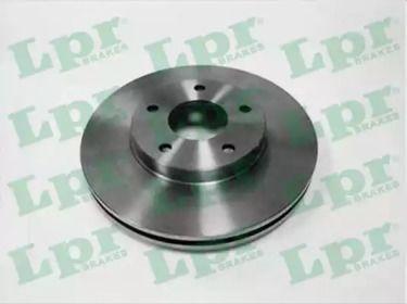Вентилируемый тормозной диск на NISSAN MAXIMA 'LPR N2002V'.