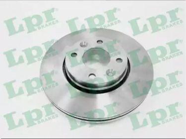 Вентилируемый тормозной диск на Ниссан Микра 'LPR N2003V'.