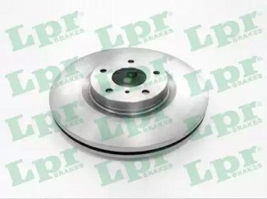 Вентилируемый тормозной диск на NISSAN MURANO 'LPR N2014V'.