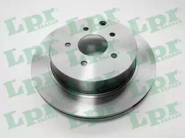 Вентильований гальмівний диск 'LPR N2015V'.