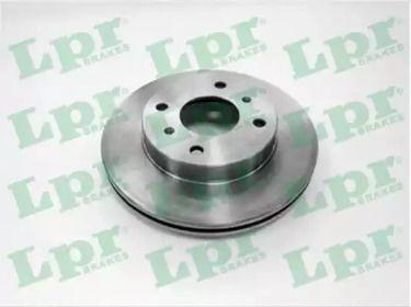 Вентилируемый тормозной диск на NISSAN 100SX 'LPR N2641V'.