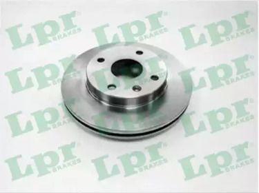 Вентилируемый тормозной диск на Шевроле Эванда 'LPR O1007V'.