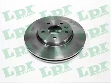 Вентилируемый тормозной диск на Шевроле Круз 'LPR O1035V'.
