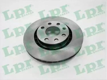 Вентилируемый тормозной диск на OPEL CALIBRA 'LPR O1171V'.