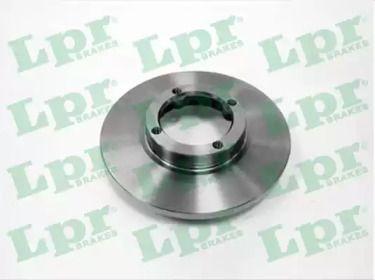 Тормозной диск на DAEWOO MATIZ 'LPR O1441P'.