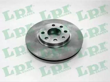 Вентилируемый тормозной диск на Опель Тигра 'LPR O1590V'.