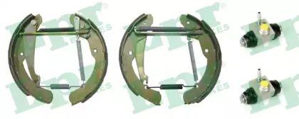 Барабанные тормозные колодки на SKODA OCTAVIA A5 'LPR OEK612'.