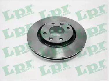 Вентилируемый тормозной диск на Пежо 301 'LPR P1002V'.