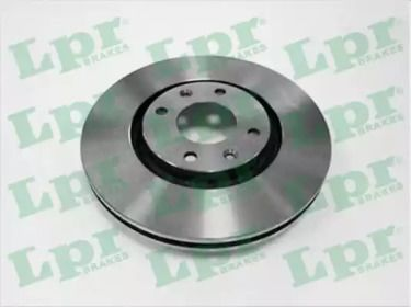Вентилируемый тормозной диск на CITROEN DS4 'LPR P1003V'.