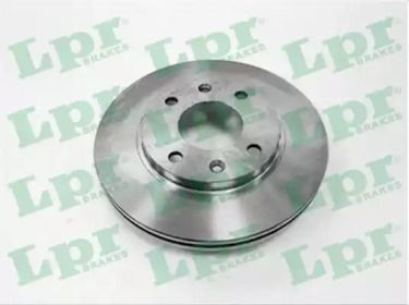 Вентилируемый тормозной диск на PEUGEOT 309 'LPR P1171V'.