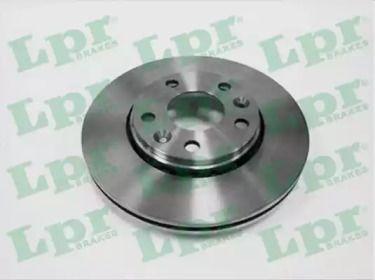 Вентилируемый тормозной диск на DACIA DUSTER 'LPR R1036V'.