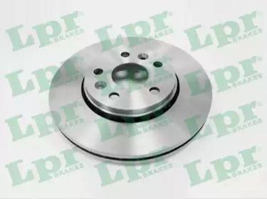 Вентилируемый тормозной диск на MERCEDES-BENZ CITAN 'LPR R1039V'.