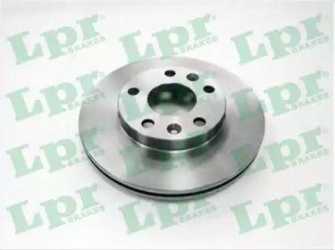 Вентилируемый тормозной диск на Дача Дастер 'LPR R1060V'.