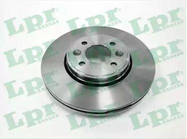 Вентилируемый тормозной диск на Рено Сценик 'LPR R1583V'.