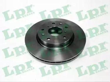 Вентилируемый тормозной диск на Сузуки СХ4 'LPR S5005V'.
