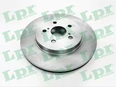 Вентилируемый тормозной диск на LEXUS RX 'LPR T2019V'.