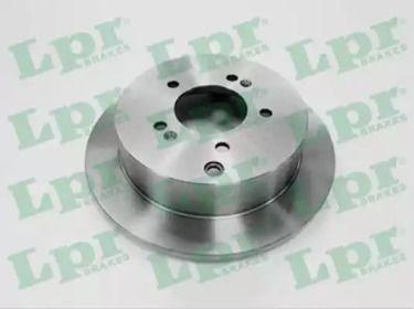 Тормозной диск на HYUNDAI IX35 'LPR T2037P'.