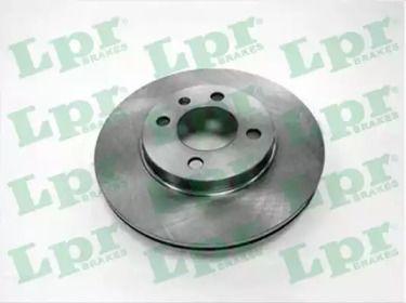 Вентилируемый тормозной диск на SEAT INCA 'LPR V2161V'.