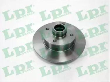 Тормозной диск на VOLKSWAGEN CORRADO 'LPR V2241P'.