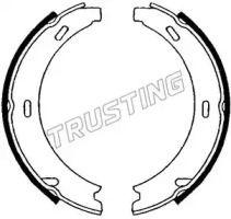 Тормозные колодки ручника 'TRUSTING 052.121'.