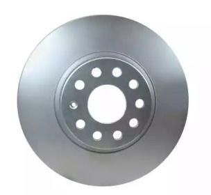 Вентилируемый тормозной диск на VOLKSWAGEN ARTEON 'HELLA 8DD 355 109-521'.