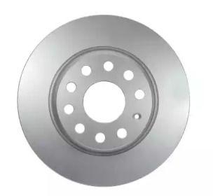 Тормозной диск на Фольксваген Тигуан 'HELLA 8DD 355 112-141'.