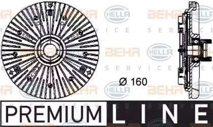 Вискомуфта 'HELLA 8MV 376 733-001'.