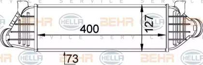 Інтеркулер HELLA 8ML 376 746-651.