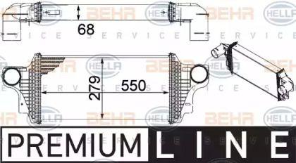 Інтеркулер HELLA 8ML 376 754-621.
