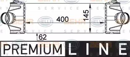 Інтеркулер HELLA 8ML 376 765-101.