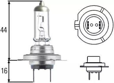 Лампа фари на Mercedes-Benz W213 HELLA 8GH 007 157-551.