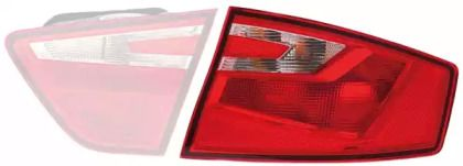 Задний левый фонарь на SEAT TOLEDO 'HELLA 2SD 011 140-051'.