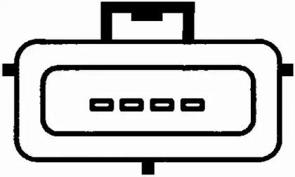 Регулятор потоку повітря HELLA 8ET 009 142-281.