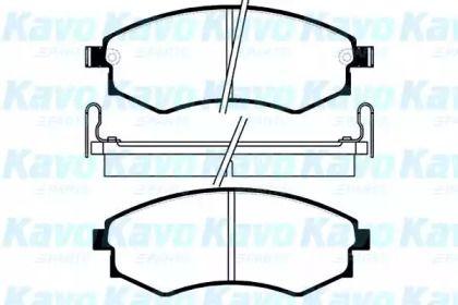 Тормозные колодки 'KAVO PARTS BP-3003'.