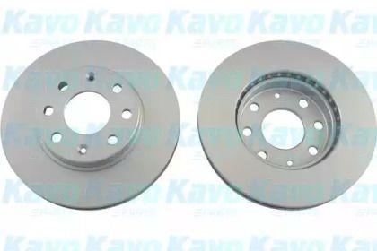 Вентилируемый тормозной диск на Шевроле Спарк 'KAVO PARTS BR-1209-C'.