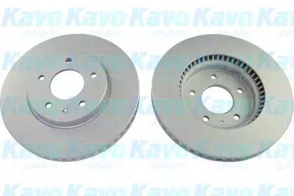 Вентилируемый тормозной диск на Шевроле Каптива 'KAVO PARTS BR-1213-C'.