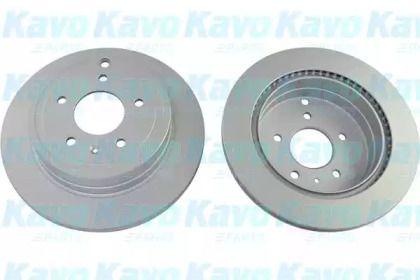 Вентилируемый тормозной диск на Шевроле Каптива 'KAVO PARTS BR-1214-C'.