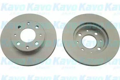 Вентилируемый тормозной диск на Хонда ЦРХ 'KAVO PARTS BR-2209-C'.