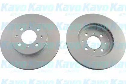 Вентилируемый тормозной диск на Хонда Джаз 'KAVO PARTS BR-2223-C'.