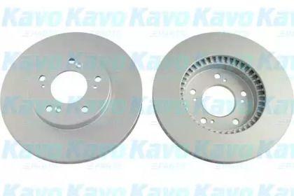 Вентилируемый тормозной диск на HONDA PRELUDE 'KAVO PARTS BR-2256-C'.