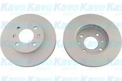 Вентилируемый тормозной диск на HYUNDAI GETZ 'KAVO PARTS BR-3226-C'.
