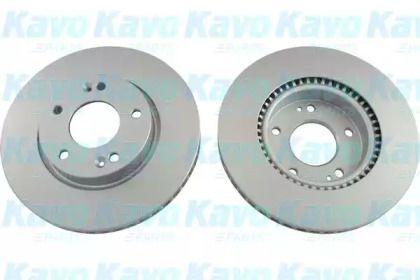 Вентилируемый тормозной диск на KIA CERATO KOUP 'KAVO PARTS BR-3228-C'.